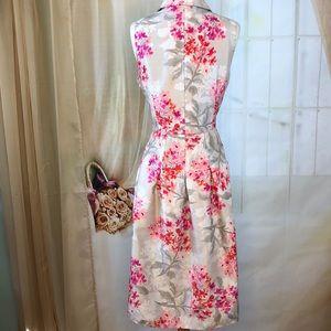 Jessica Howard Dresses - Jessica Howard Sleeveless Floral Dress